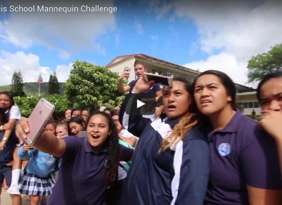 Saint Francis Students Mannequin Challenge