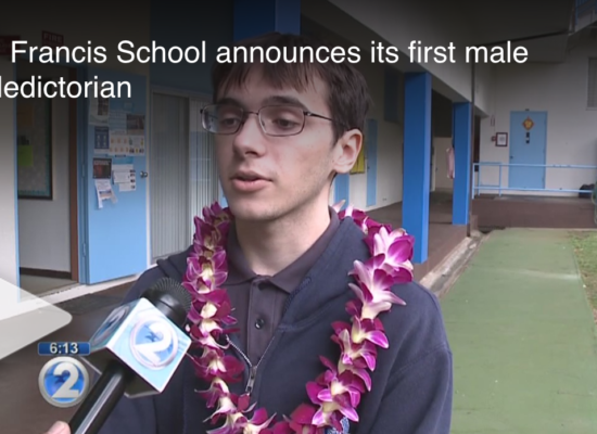 Saint Francis School Announces Its First Male Valedictorian